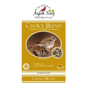 Aspen Song® Choice Blend™ Wild Bird Food (5#)