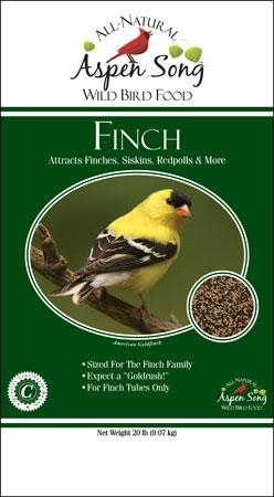 Aspen Song® Finch Mix™ Wild Bird Food (20#)