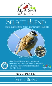 Aspen Song® Select Blend™ Wild Bird Food (4#)