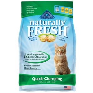 Blue Buffalo® Naturally Fresh® Walnut Based Clumping Cat Litter (6#)