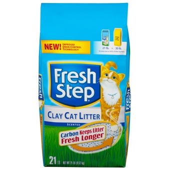 Fresh Step® Scented Non-Clumping Clay Cat Litter (21# Bag)