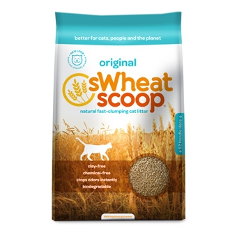 Swheat Scoop® Natural Fast-Clumping Cat Litter (14#)