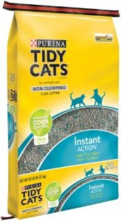 Tidy Cats® Instant Action Non-Clumping Cat Litter (20#)