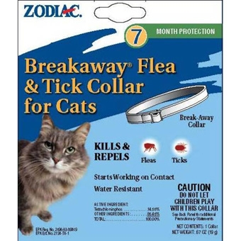 Zodiac® Breakaway® Flea & Tick Collar for Cats