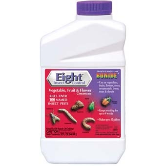 Bonide® Eight™ Flower, Vegetable & Fruit Insect Control (Quart-Concentrate)