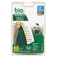 BioSpot® Active Care® Flea & Tick Spot On for Small Dogs 5-14#'s (3 Month Supply)