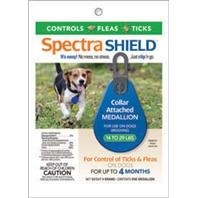 SpectraShield® Flea & Tick Collar Medallion for Dogs 14-29#'s