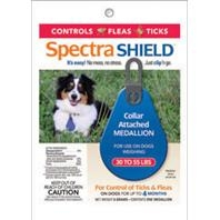 SpectraShield® Flea & Tick Collar Medallion for Dogs 30-55#'s
