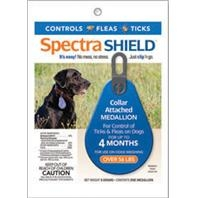 SpectraShield® Flea & Tick Collar Medallion for Dogs over 55#'s