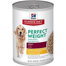 Hill's® Science Diet® Perfect Weight™ Chicken & Vegetable Entrée Adult Dog Food (12.5oz Can)