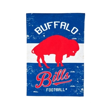 NFL® Vintage Series Buffalo Bills Decorative Garden Flag