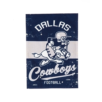 NFL® Vintage Series Dallas Cowboys Decorative Garden Flag