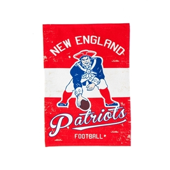 NFL® Vintage Series New England Patriots Decorative Garden Flag