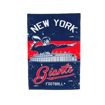 NFL® Vintage Series New York Giants Decorative Garden Flag