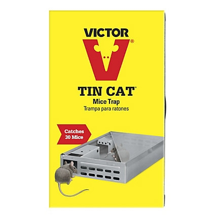 Victor® Tin Cat® Mouse Trap (Holds up to 30 Mice!)