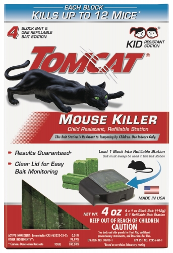Tomcat® Mouse Killer III® Refillable Bait Station