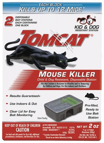 Tomcat® Mouse Killer II® Disposable Bait Station (2/Pack)