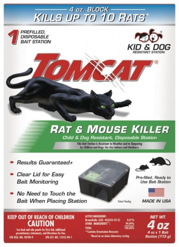Tomcat® Rat Killer Disposable Rat Bait Station