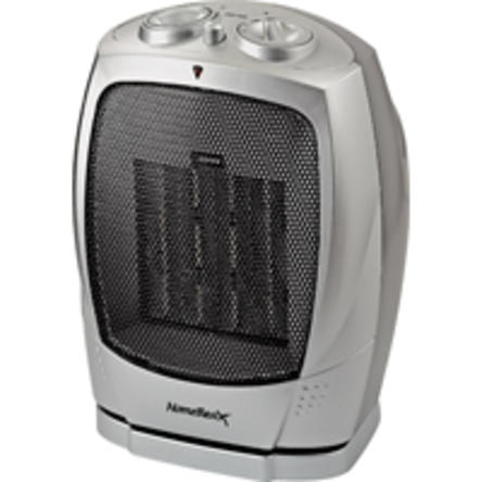 Homebasix® Ceramic Oscillating Electric Heater (PTC-903B)
