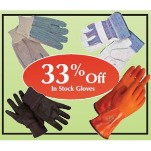 33% Off Entire Selection of In Stock Gloves