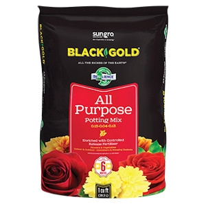 Black Gold® All Purpose Potting Mix with Resilience®