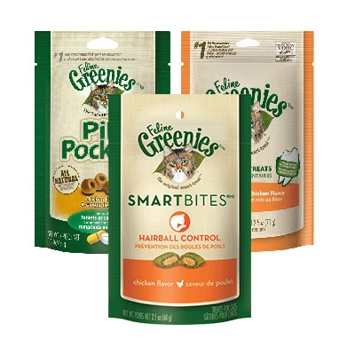 $1 Off Greenies® Treats for Cats