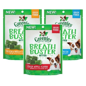 FREE 1.2oz Bag of Greenies® Breath Buster Bites