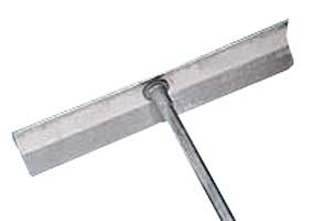 Emsco® Bigfoot® 15 Foot Extension Handle Aluminum Roof Rake