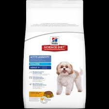 Hill's® Science Diet® Active Longevity™ Adult (7+) Dog Food (17.5#) Small Bites