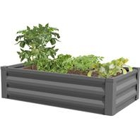 Panacea™ Raised Galvanized Planter-Antique Iron (47