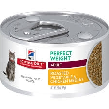 Hill's® Science Diet® Perfect Weight Roasted Vegetable & Chicken Medley Adult Cat Food (2.9oz Can)