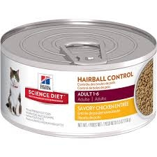 Hill's® Science Diet® Hairball Control Savory Chicken Entree Adult Cat Food (3oz Can)