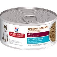 Hill's® Science Diet® Hairball Control Ocean Fish Entrée Adult Cat Food (5.5oz Can)