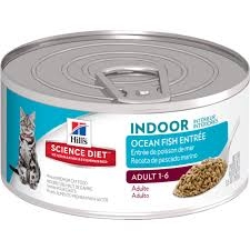 Hill's® Science Diet® Indoor Ocean Fish Entrée Adult Cat Food (5.5oz Can)