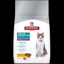 Hill's® Science Diet® Indoor Age Defying Adult (7+) Cat Food (7# Bag)