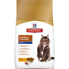 Hill's® Science Diet® Hairball Control Adult (7+) Cat Food (3.5#)