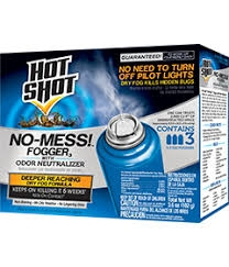 Hot Shot® No-Mess!™ Insect Fogger with Odor Neutralizer