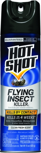 Hot Shot® Flying Insect Killer (15oz-Solid Mist Aerosol)