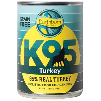 Earthborn® Holistic K95™ Grain-Free Turkey Dog Food (13oz)