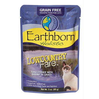 Earthborn® Holistic Low Country Fare™ Tuna Dinner with Shrimp in Gravy Grain-Free Cat Food (3oz Pouch)