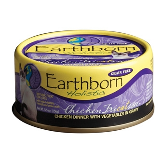 Earthborn® Holistic Chicken Fricatsse™ Grain-Free Cat Food (5.5oz)