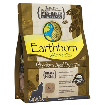Earthborn® Holistic Chicken Meal Recipe Oven-Baked Dog Treats