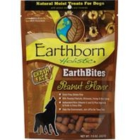 Earthborn® Holistic Earthbites™ Peanut Flavor Grain-Free Dog Treats (7.2oz)