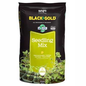 Black Gold® Seedling Mix (1.5 Cubic Foot Bag)