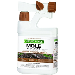 Liquid Fence® Mole Repellent (32oz Ready-to-Spray Concentrate)
