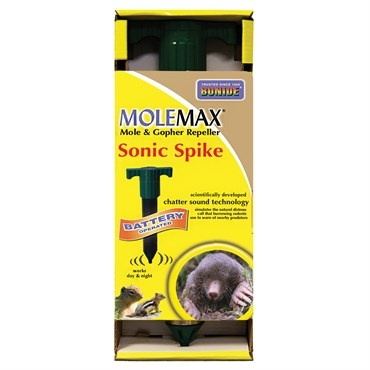 Bonide® Molemax® Mole & Gopher Repelling Sonic Spike (Battery Powered)