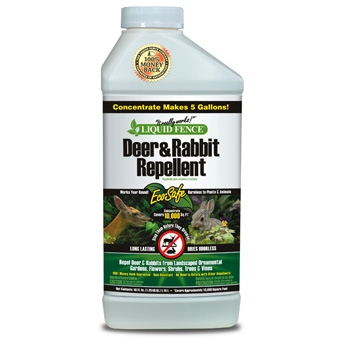 Liquid Fence® Deer & Rabbit Repellent (40oz Concentrate)