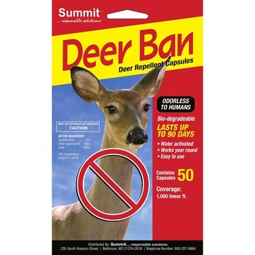 Summit® Deer Ban® Deer Repellent Capsules (50 Count)