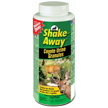 Shake Away® Coyote Urine Granules Deer Repellent (28.5oz Jug)