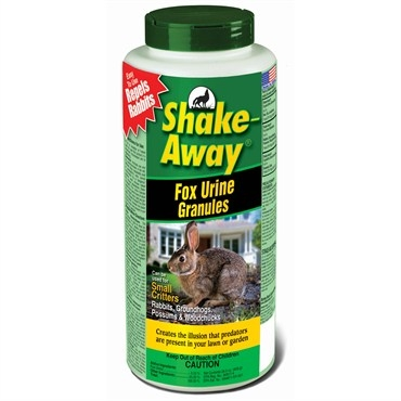 Shake Away® Fox Urine Granule Small Critter Repellent (28.5oz)